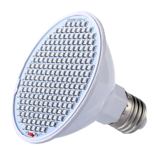 E27 Plant Grow Light Lamps AC85-265V SMD Led Grow Light Red+ Blue For Hydroponics Vegetables Herbs and Flowering plants