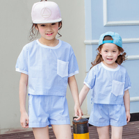 Girls Boutique Outfit Big Little Sisters Matching Clothes Summer Cool Things Simple Sets 2 Pcs 456789