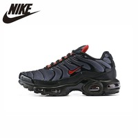 Nike Original Air Max Plus Tn New Arrival Men Running Shoes Comfortable Outdoor Sports Message Sneakers #CI2299 001