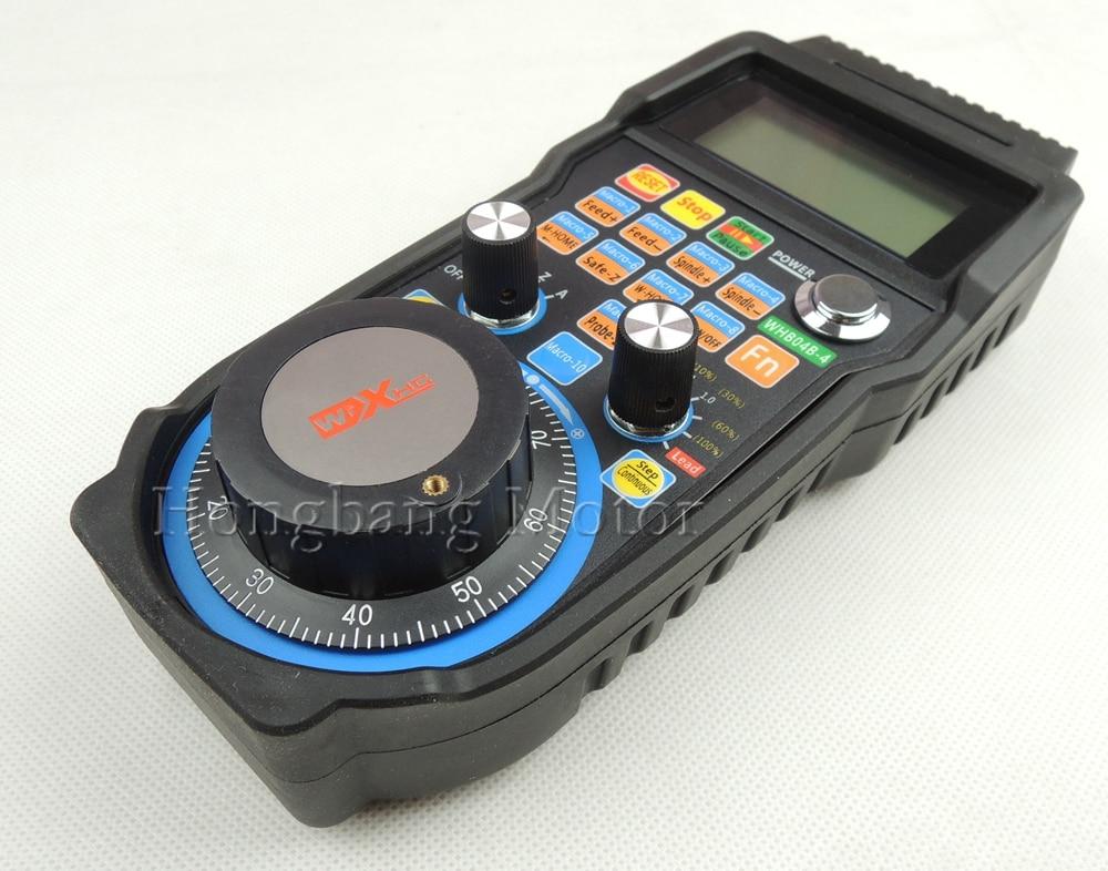 Máquina de grabado con volante a distancia mach3 MPG, rueda de mano inalámbrica USB para CNC, 3 ejes, 4 ejes, máquina de fresado con controlador - 3