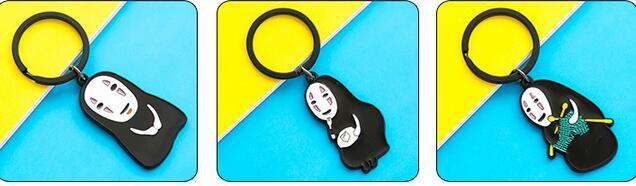 80 piezas Estudio japonés Ghibli Miyazaki Hayao Anime Spirited Away - Figuritas de juguete - foto 6