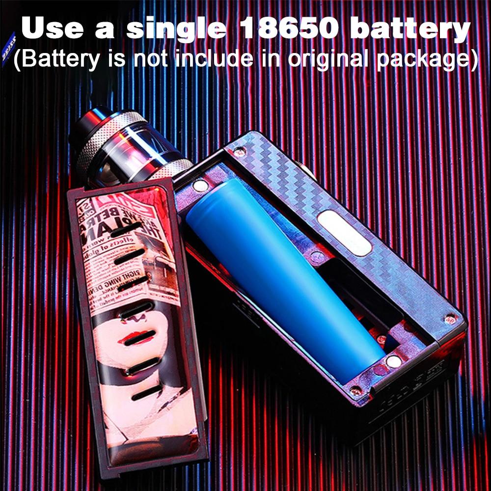 DOTENT Charm Night Vape Kit Mechanical Mod Kit 2ml Atomizer 510 Thread 18650 Battery Shisha Pen Electronic Cigarette Mech Mod