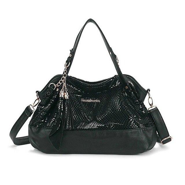 Crocodile Pattern Designer Genuine Leather Bag Serpentine Snakeskin Handbags Women Famous Brands Shoulder Messenger Bags sg54