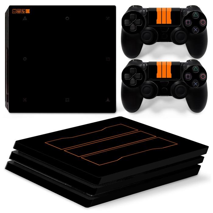 OSTSTICKER ดำ C และ D สำหรับ Sony PS4 P Ro - เกมและอุปกรณ์เสริม