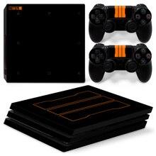 OSTSTICKER Black C и D для Sony PS4 Pro для наклейки с наклейкой на виниловой панели для Playstation 4 Pro