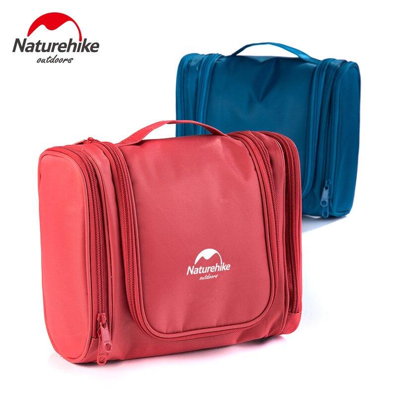 Naturehike Swiming collecting Bags Wash Bag Nylon Portable Makeup Organizer Bag With Hang Big Capacity For Outdoor Camping