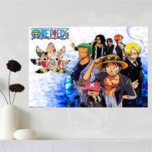 One Piece Anime Canvas Silk Poster Art 18 designs & 3 sizes