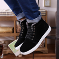Men Shoes Fashion High Top Suede Warm Fur Winter Snow Shoes Men Comfortable Flat Casual Shoes Brand Shoes Zapatos Hombre