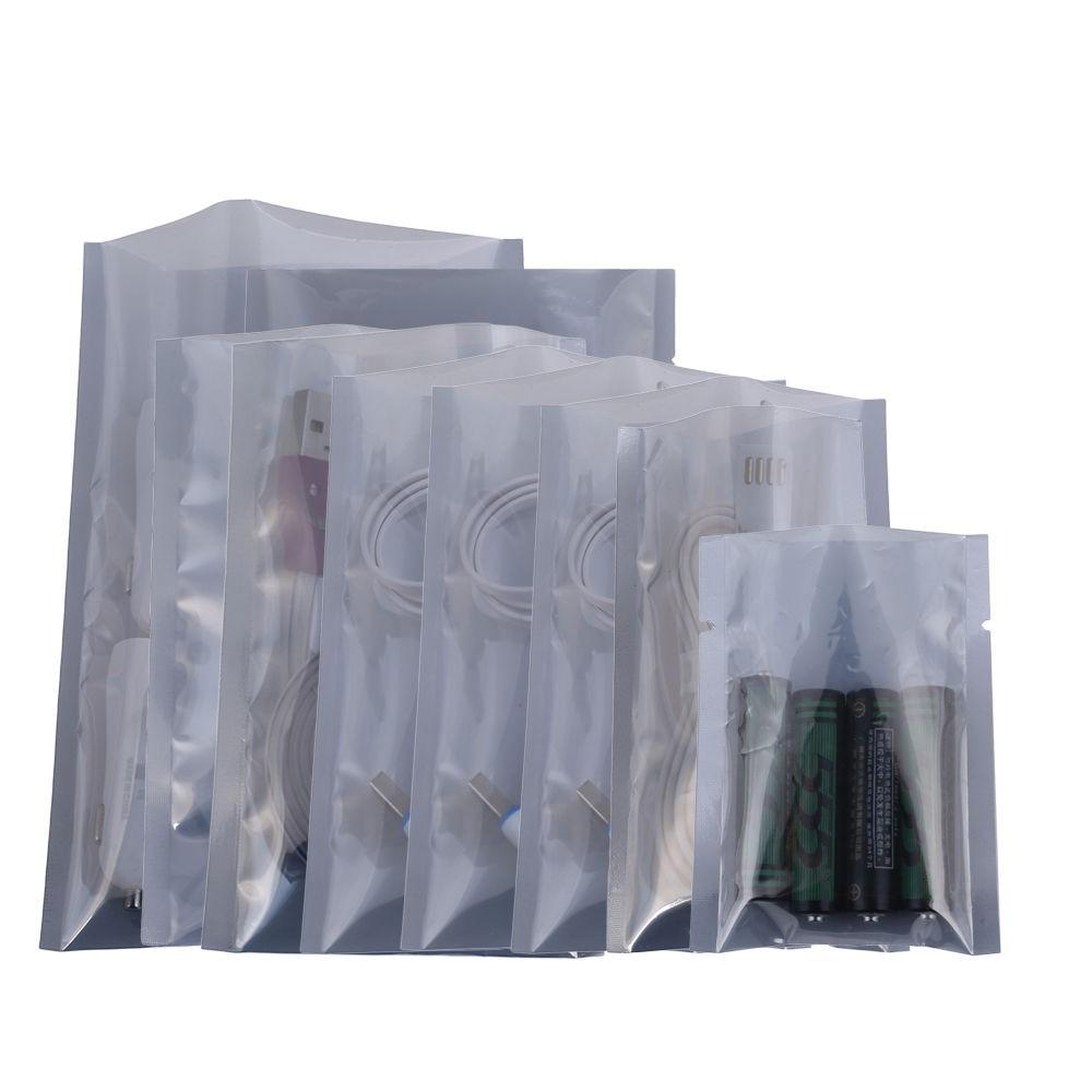 DHL 6*15cm Anti-Static Shielding Storage Bags ESD Anti Static Pack Bag Open Top Antistatic Package Bag 2