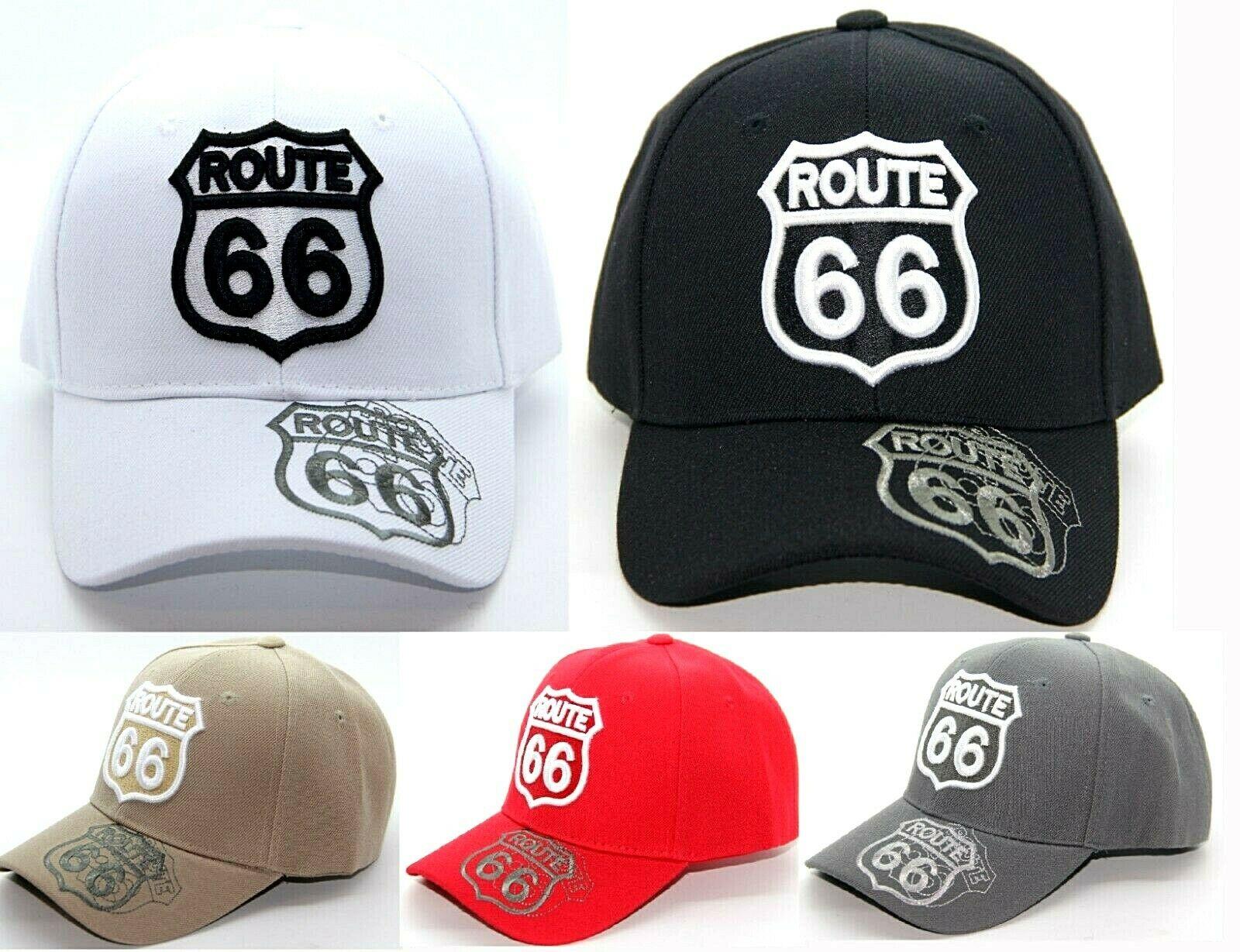 Printed CALIFORNIA ROUTE 66 MOTHER ROAD   BASEBALL     CAP   HAT ADJUSTABLE