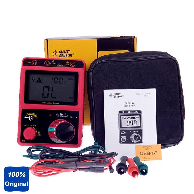 100% Original AR907A Digital Insulation Meter Tester Megger MegOhm ar907a digital insulation tester megger megohm meter