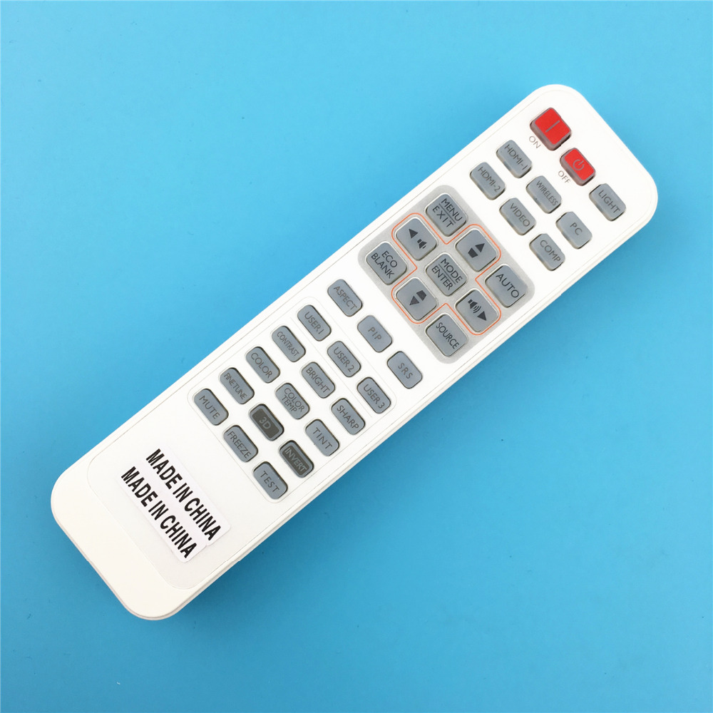 remote control suitable for  benq projector  W1070 W750 W1080ST W1070+  W1400 W1500 benq w1070