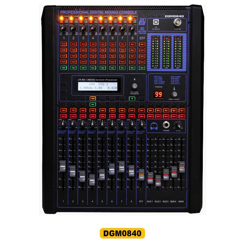 Buy 8 channel digital mixers professional digital mixing console dj console - Professional mixing console ...
