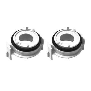 Image 1 - 1 paar H7 Scheinwerfer Birne Adapter Halter für BMW 3 Serie 318i E65 E90 LED Scheinwerfer Birne Adapter Hohe Qualität auto Auto Zubehör