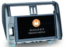 8-Core Android 6.0 10.2inch Car Dvd Gps Navi Audio for Toyota Prado 150 2010-2013 Support 3G 4G DVR OBD Steering wheel DBA+