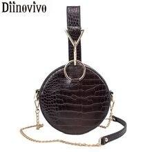 e01e3bc068d89 DIINOVIVO luxe motif Crocodile femmes sac à main femmes épaule sac à bandoulière  chaîne soirée petit