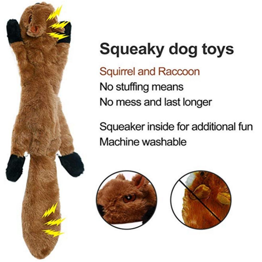 Lindos juguetes de peluche con sonido para mascota 3