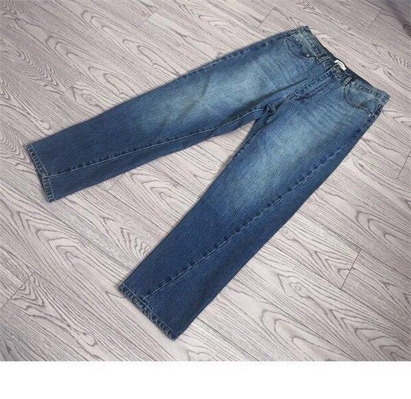 Couture Discret pu Droite ardoisé Un bleu Jeans Cheville Fabriqué En Vintage menthe À Noir Femmes Est Jambe Recadrée Silhouette Légèrement Italie Flatteur Une De Ciel 4xAxvw1aq