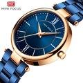MINIFOKUS AA Luxus Marke Frauen Uhren Wasserdicht Mode Frau Damen Uhr frauen Kleid Armbanduhr reloj mujer EIN