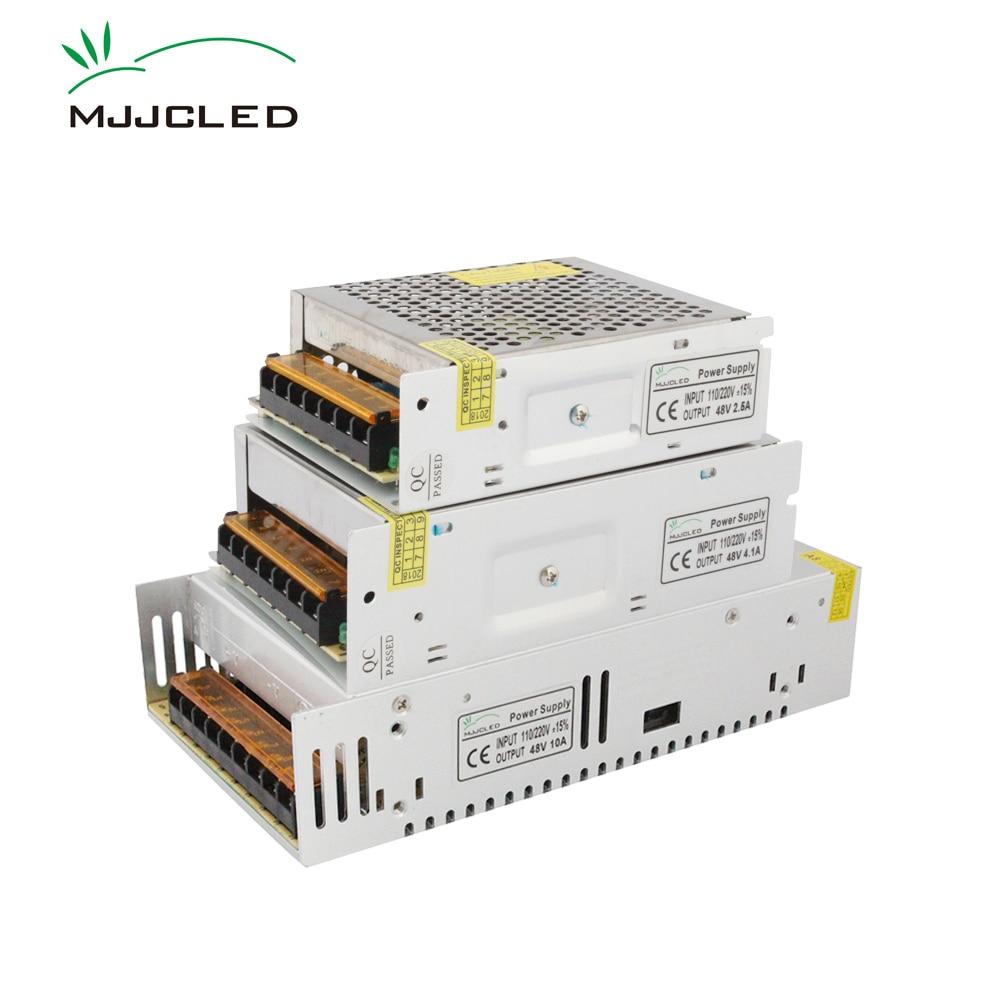 Netzteil 48 V 5A 10A 12.5A 600 Watt 480 Watt 240 Watt AC DC 110 V 220 V 48 V Transformator Led-treiber Schaltnetzteil für Streifen licht