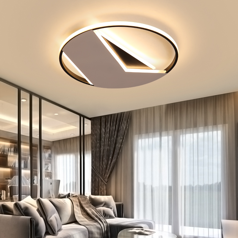 Ceiling Lights Remote Control Led Ceiling Light With Ultra-thin Acrylic Lamp Ceiling For Living Room Bed Room Flush Mount Lamparas De Techo Lights & Lighting