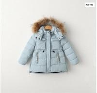 Winter Jacket kids Coat Kids Winter coat worm real fur jackets for kids parkas for girl parka baby girl winter clothes