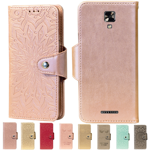 outlet store 8d9c8 5ccff US $4.14 17% OFF|Embossing Stand Flip PU Leather wallet Case Cover For NUU  Mobile A4L G3 X4 X5 A3 A1 N5L M3 Z8 NUU X5 M2 -in Flip Cases from ...