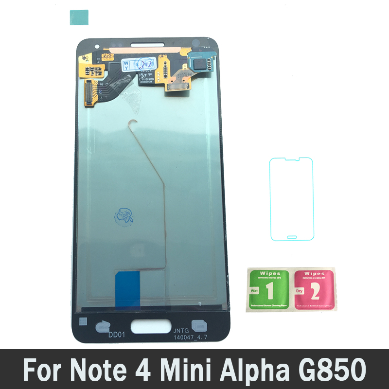 Super AMOLED LCD High Quality For Samsung Galaxy Note 4 Mini Alpha G850 G850F Phone LCD Screen Display Touch Digitizer AssemblySuper AMOLED LCD High Quality For Samsung Galaxy Note 4 Mini Alpha G850 G850F Phone LCD Screen Display Touch Digitizer Assembly