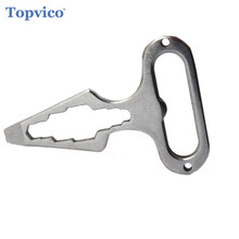 Keychain Self Defense Supplies Protection Tool Stainless Ste