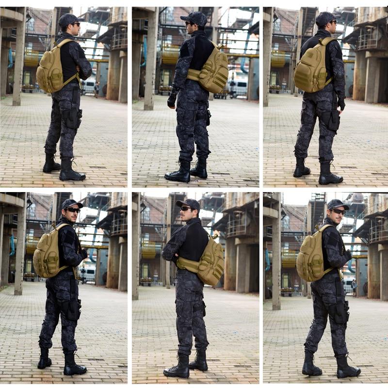 Image 5 - 35L Tactical shoulder Backpack,Molle Outdoor Backpack for men,Waterproof Army Camping Travel Hiking Trekking Tactical Bagsport bagprotector plushiking bag -