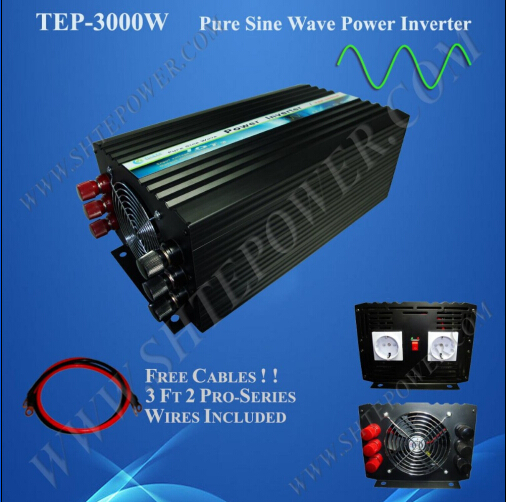цена на Hot sale off grid pure sine wave 48v 3000w power solar inverter for 220v country