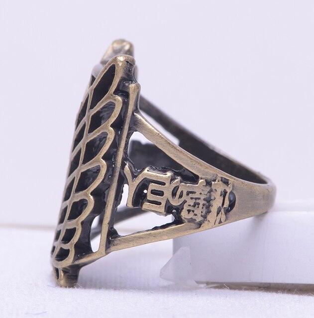 Аниме кольцо Атака Титанов 18 мм 3