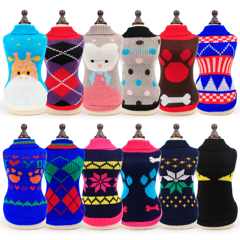 best top 10 knitted dog sweaters ideas and get free shipping