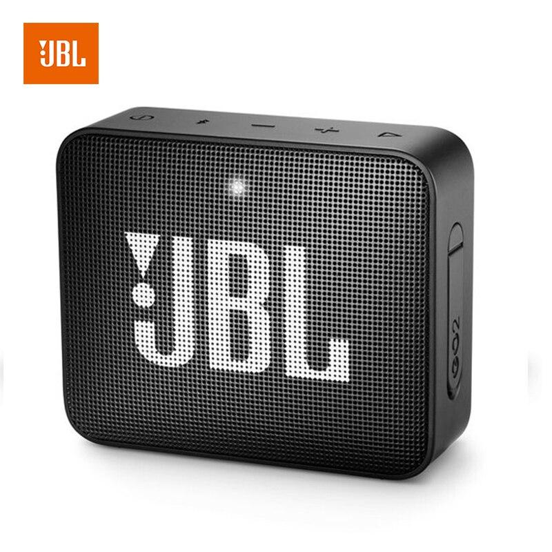 JBL GO 2 musique Bluetooth petit haut-parleur Audio Subwoofer Portable Mini haut-parleur Multi couleur forte puissance haut-parleur intégré GO2