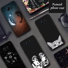 Pattern Case For Samsung Galaxy S9 S8 A8 Plus 2018 A5 A3 A7 J7 J5 J3 2017 2016 S9 S8 Plus Note 8 S7 S6 Edge J2 Pro TPU Case Capa(China)