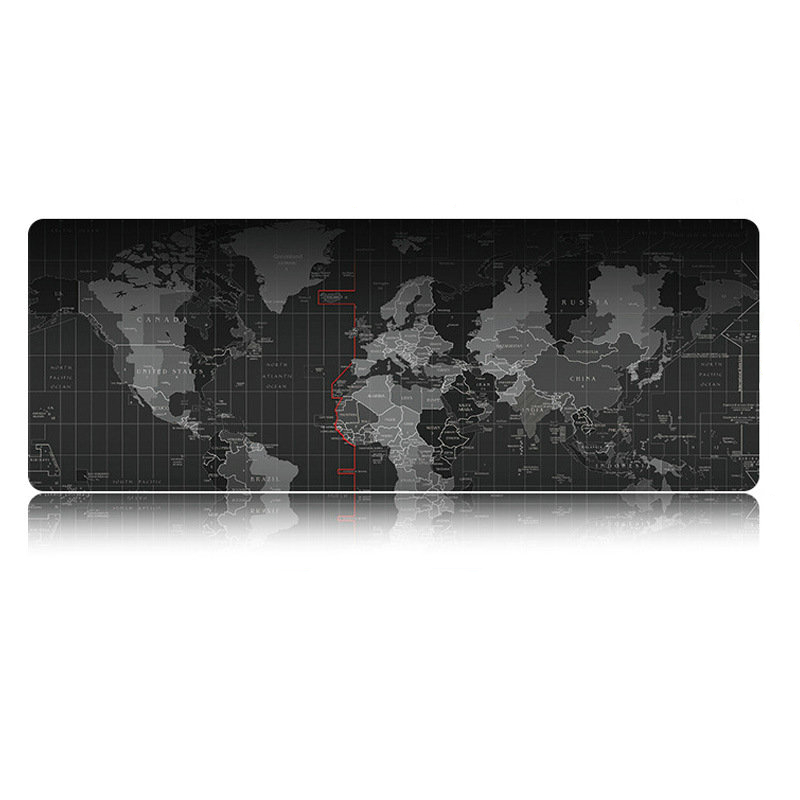 Rakoon Large Gaming Mouse Pad World Map Locking Edge Mouse Mat Control/Speed Version Mousepad For CS GO Dota 2 League of Legend