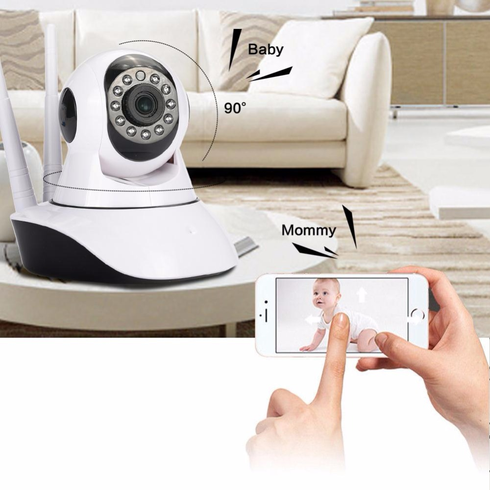 giantree HD 1080P Baby Monitor WIFI IP Camera Wireless Network Night Vision Camera Office Universal Home safety EU/US plug new wireless remote control baby monitor with night vision intercom voice wifi network ip camera electronic for smart phone
