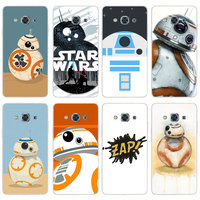 G279 Star Wars Bb 8 Transparent PC Hard Case Cover For Samsung Galaxy J 3 5 7 A 3 5 7 2015 2016 GRAND 2 PRIME