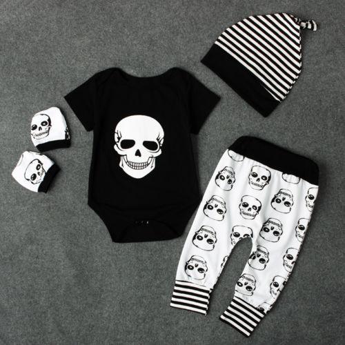 Комплект одежды для новорожденных CANIS, комплект из 4 предметов Топ + длинные штаны + шляпа, лидер продаж, 2019