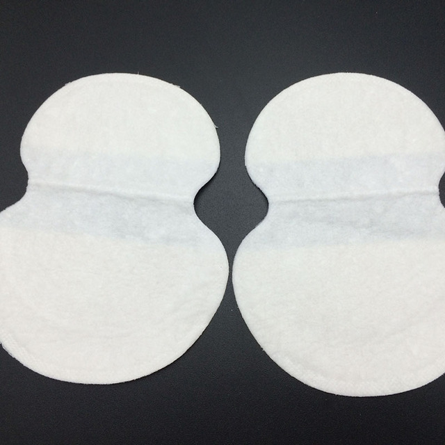 50pcs/lot Deodorants Underarm Sweat Pads Dress Clothing Perspiration Pads For Women Absorbing Pads For Armpits Summer Supply P05