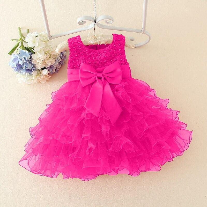 Kids 1 Year Baby Girl Birthday Dress Baby Baptism Christening Gowns ...