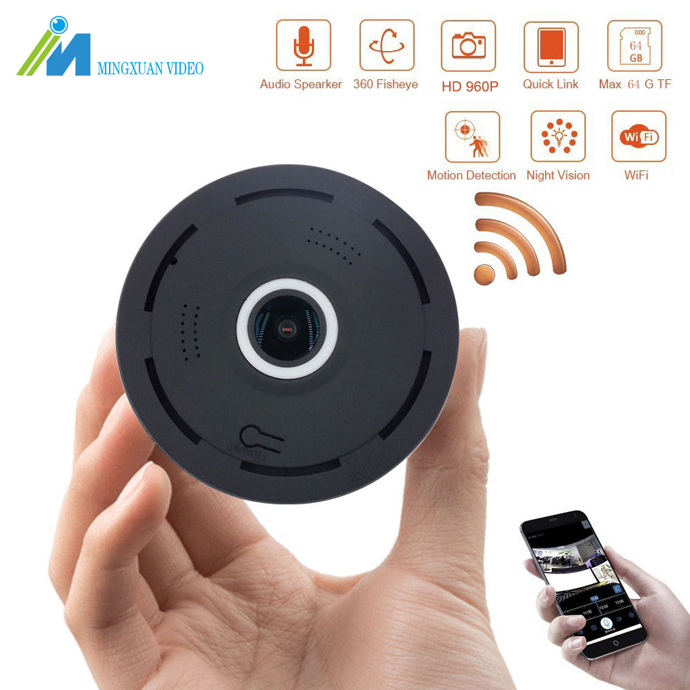 MX 960P IP Camera 360 Degree Panoramic Home Security 1.3MP Mini Camera Wifi P2P Fisheye Surveillance Cameras Night Vision Camera нивелир ada cube 2 360 home edition a00448