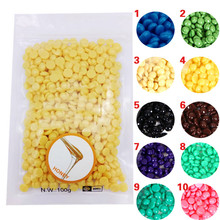 100g Depilatory Wax Beans Solid Arms Legs Face Skin Bikini Beauty Care Product H