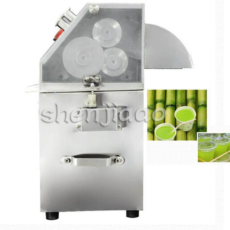Stainless steel electric sugar cane juicer 3 rollers SUGAR Cane juicer fruit juice extractor machine 1pc настенная плитка cir havana sugar cane sestino 6x27