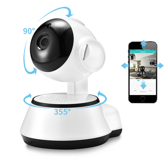 BESDER Wifi Smart Baby Monitor Camera HD 720P Two Way Audio Security IP Camera Wireless With Motion Detection Night Vision