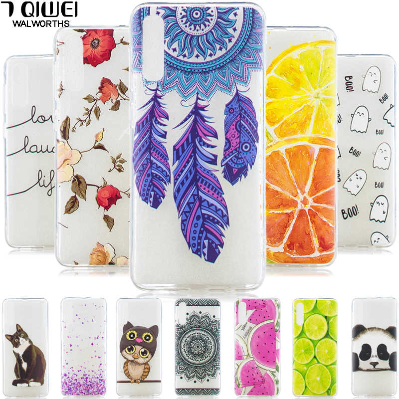 For Samsung Galaxy A50 Cases 6.4'' 2019 Soft Silicone TPU clear Back cover phone case For Samsung A50 A 50 A505 A505F cases