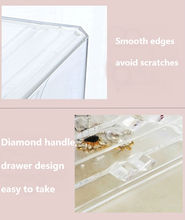 Earring Holder And Jewelry Organizer Showcase Stand Box