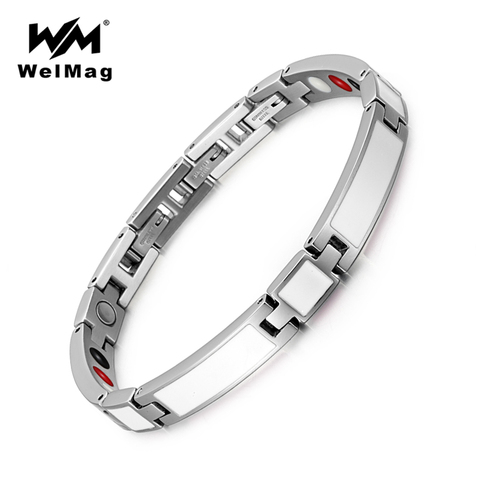 Женские элегантные браслеты welmag белые из эпоксидной смолы