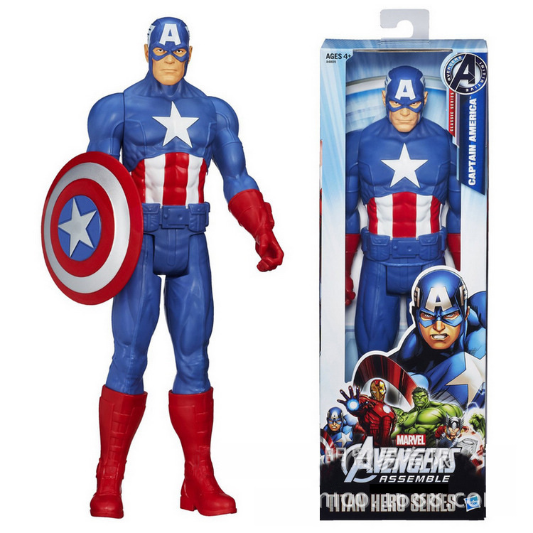 "12 ""30cm Captain America 3 Inbördeskrig Super Hero Avengers Action Figur Collectible Toy Modell Captain America, Iron Man Doll"