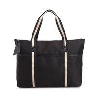 Nylon Large Capacity Weekender Bag Women Travel Bag Portable Luggage Bag Weekend Handbags Black 30 OFF